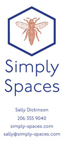 Simply Spaces Tri-Fold Brochure Front