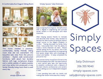Simply Spaces Tri-Fold Brochure