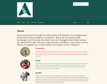 2016 Alternative Gift Market website