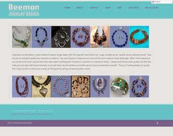 Beeman Jewlery Design website