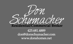 Don Schumacher business card front