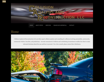 Collision Analysis & Reconstruction LLC website
