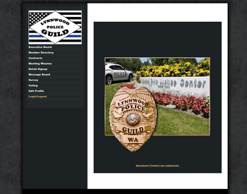 Lynnwood Police Guild website