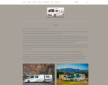 North American RV (NARV) website