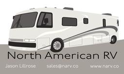 The design paige llc graphic design projects web graphic north american rv narv business card colourmoves
