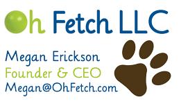 Oh Fetch LLC business card back