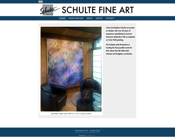 Schulte Fine Art website