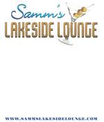 Samm's Lakeside Lounge - 7x5 Table Talker Side 1
